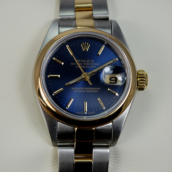 Ladies Rolex Steel and Gold Datejust in Watches from Coopers Jewellery, North Devon